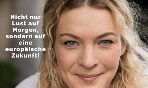 Sally Lisa Starken, Kandidatin für die SPD zur Europawahl in Ostwestfalen.